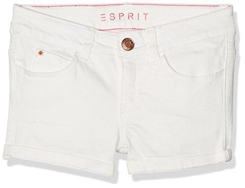 ESPRIT Mädchen Shorts RJ26065, Weiß (White 010), 140