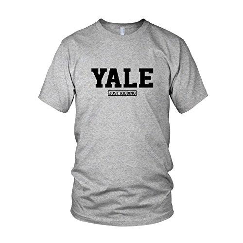Yale Just Kiddung - Herren T-Shirt, Größe: L, Farbe: grau (Law School Kostüme)