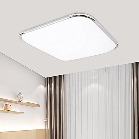 VINGO® 12W LED Deckenleuchte Deckenlampe im Wohnzimmer Badleuchte Esszimmer Schlafzimmer Deckenbeleuchtung Büros Innenleuchte Modern Decke Lampe 1080lm kaltweiß(6000-6500K)120° Abstrahlwinkel Markantes