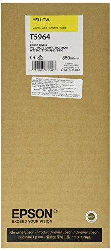 Epson T5964 C13T596400 - Cartouche d'encre d'origine - Jaune (Yellow) pour Stylus Pro - 350ml
