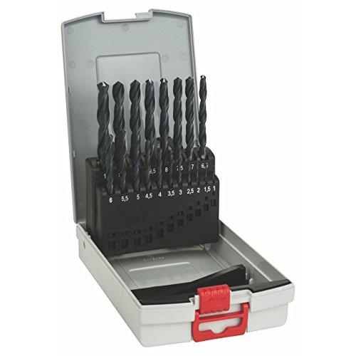 Bosch Pro 19tlg. Metallbohrer-Set HSS-R rollgewalzt ProBox