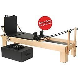 Yogistar Pilates reformador de madera de arce terapéutico Leg - Star vs, sitting Box y Jump board