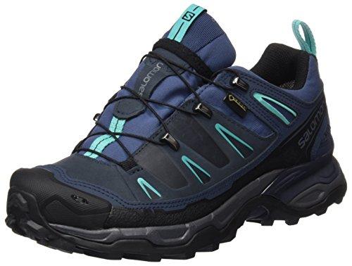 Ultra Spa (Salomon Damen X Ultra Ltr GTX Trekking-& Wanderhalbschuhe, Blau (Slateblue/Deep Blue/Spa Blue 000), 41 1/3 EU)