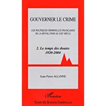 Gouverner le crime