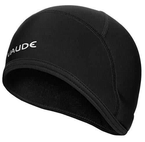 Vaude Bike Warm Cap, Helm-Unterziehmütze Mütze, Black Uni, M