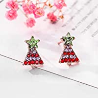 jieGorge Ladies Earrings ♣ Exquisite fashion christmas style earrings pendant fashion alloy earrings, Give Lady the best Christmas Birthday Gift