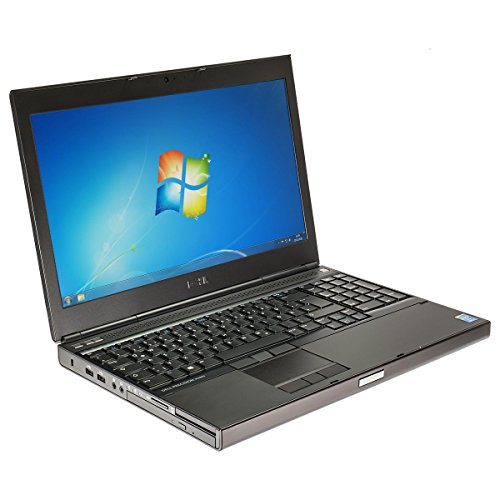 Dell Notebook Laptop Precision M4800 i7 2,8 GHz 15.6 Zoll Full-HD Windows 10 2.8 Ghz Notebook