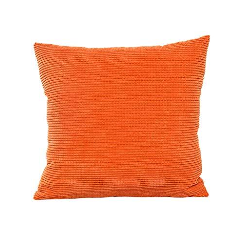 LILICAT Cord Kissenbezug Weiches Massiv Dekorativen Quadratisch Überwurf Kissenbezüge Kissen Kissenhülle für Sofa Schlafzimmer Festliche Hausdekoration und Wohnzimmer 65x65cm