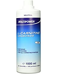 Multipower L-Carnitine Concentrate, 1er Pack (1 x 1 l)