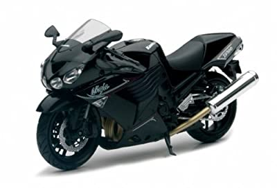 Kawasaki Ninja ZX-14 schwarz 2011 1:12 NewRay von NewRay