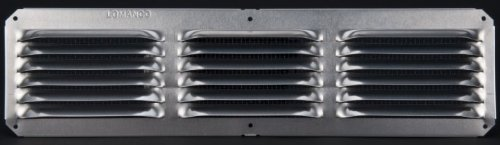 Lomanco C416 16-Inch X 4-Inch Mill Finished Undereave Vent by Lomanco -