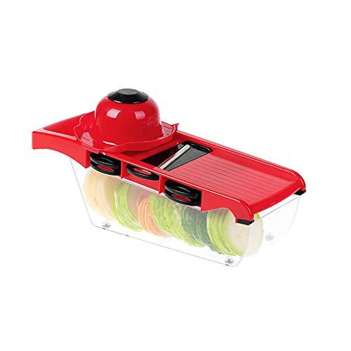 LAIY Gemüsespiralenschneider, Hand Easy Clean Küchenutensilien Multifunktions-Schnittgemüse Rettich/Kartoffel-Seidenreibe Artefakt