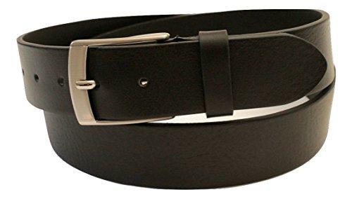 Mens Full Bull Leather Belt 1.5