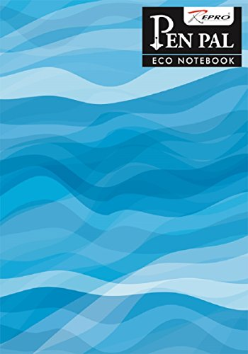 Eco Notebook by Pen Pal - 210 x 297 mm, Soft cover, 240 Pages, Unruled