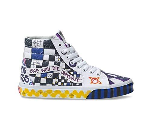 Vans Sk8 Hi Galactic Goddess, Scarpe da Skateboard, Sneakers. (42 EU)