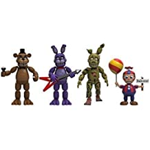 Pack 4 figuras Five Nights at Freddys Pack 2