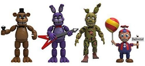 FIVE NIGHTS AT FREDDY'S Action Figure Set 2 Figuren Set Standard