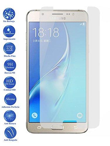Protector de Pantalla Cristal Templado Vidrio para Samsung Galaxy J7 J710f 2016