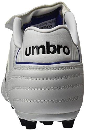 Umbro Umbro Speciali Eternal Premier AG–Bota per uomo, colore: bianco/nero/Clematis Blu Blanco / Negro / Clematis Azul