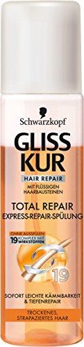 Gliss Kur Total Repair Express-Repair-Spülung, 6er Pack (6 x 200 ml)