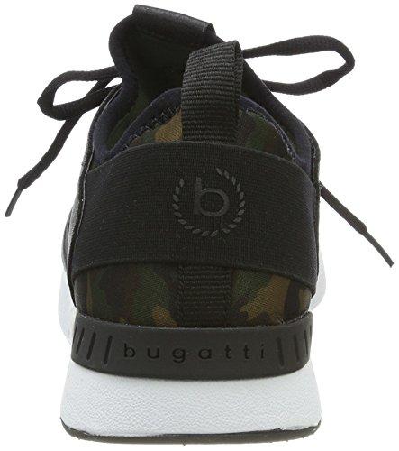 Lady Bugatti 442271656900 Sneaker Verde (verde Scuro 7100)