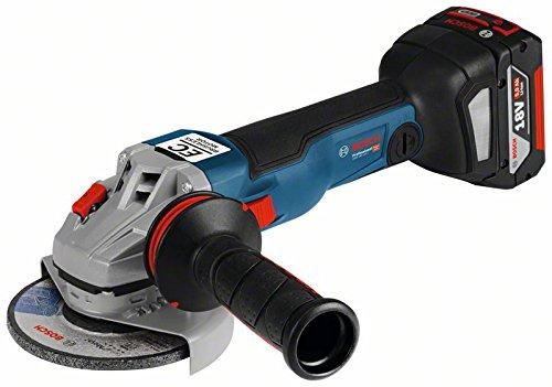 Bosch Professional 06019G3101 Amoladora Angular a batería, 18 V, Azul