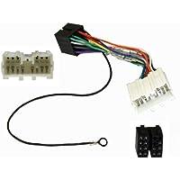 Aerzetix-E7-Cavo adattatore Radio ISO con adattatore Radio a norma ISO, Cavo per MITSUBISHI
