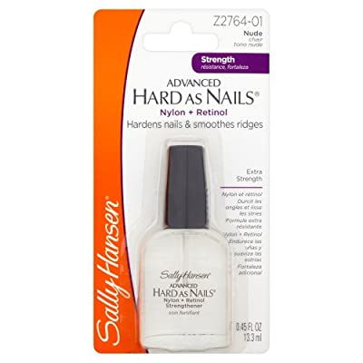 Sally Hansen Hard as Nails with Nylon Formula, 13 ml, Nude from Coty
