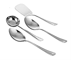 Classic Essentials Stainless Steel Laddle set of 4