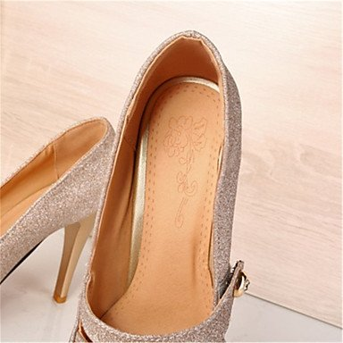 Moda Donna Sandali Sexy donna tacchi Primavera / Estate / Autunno Comfort Glitter Office & Carriera / Party & Casual Stiletto Heel OthersRed / argento Red