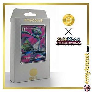 Gardevoir-GX 140/147 Full Art - #myboost X Sun & Moon 3 Burning Shadows - Box de 10 cartas Pokémon Inglesas