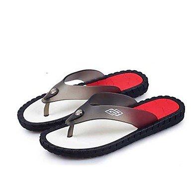 Winterstiefel FrauenPU -beiläufige Keilabsatz Sandalen Feder Sandalen US11 / EU44 / UK10 / CN46