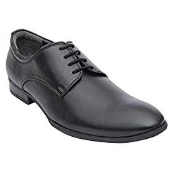 SaltnPepperSNP 15-426 ZOOPMALVIN SYNTHETIC LEATHER BLACK LACEUP MEN FORMAL...