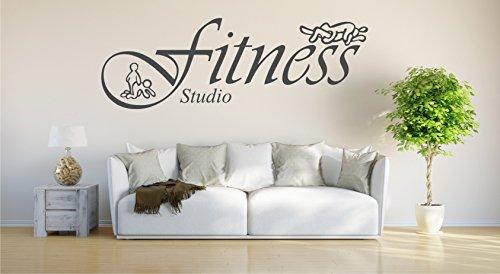 fitness Studio - 55cm x 39cm anthrazit E950