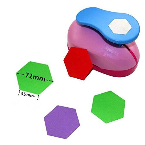 CADY Crafts Punch 3 Zoll Papier locher paper punch hexagon