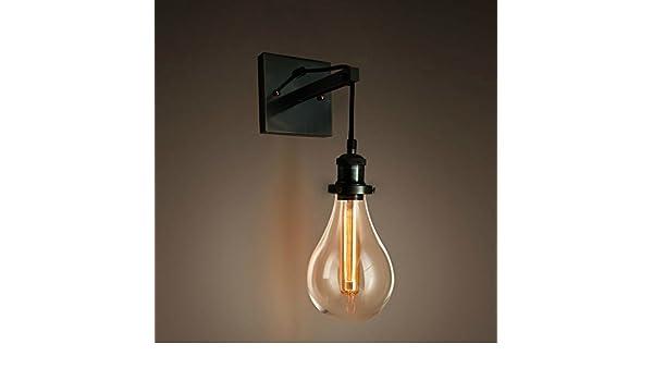 Purelume™ retro industrial tearbulb wandleuchte wandlampe mit