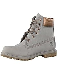 Timberland 6in Premium Boot - W STEEPLE GREY, WOMAN, Size: 38 EU (7 US / 5 UK)