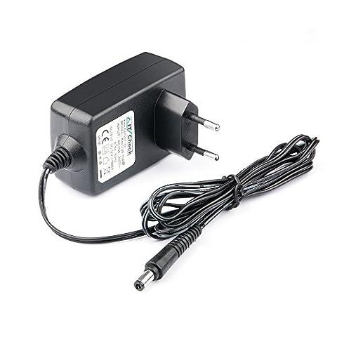 12V d'alimentation/chargeur/bloc secteur compatible avec Western Digital WD TV Live Lecteur multimédia HD