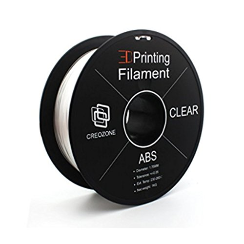 CREOZONE Plastique Filament ABS 1.75mm 1kg for impression 3d MakerBot RepRap Flashforge Prusa Ultimaker Dremel