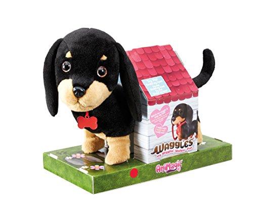 Crayola - Waggles en balade - Peluche à fonction - un chien qui marche et aboie - 256308.006