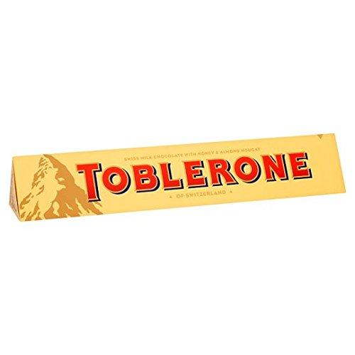 Preisvergleich Produktbild Toblerone Schokolade / Feine Schweizer Milchschokolade mit Honig- und Mandelnougat / Großtafel / 1 x 360g