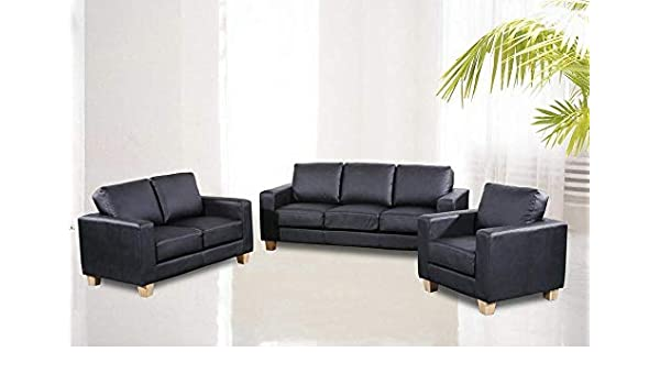 Chesterfield Sofa Suite One Seater Made Of Fine Quality Pu In Box