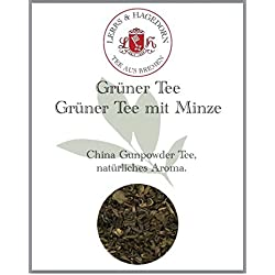 Grüner Tee Grüner Tee mit Minze 1kg