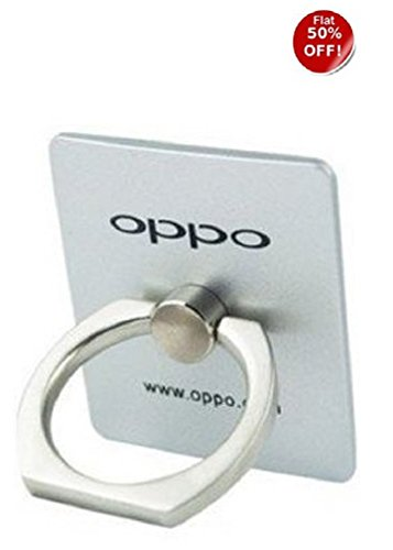 SUMMER OFFER MOBILE RING STAND Metal Mobile Stand Ring Stand Holder Mobile Phone Ring Stent Guard Against Theft Clasp 360 Degree Rotating Metal Ring Holder for Compatible for OPPO A57 Oppo F1S OPPO A37 OPPO Neo 7 Oppo F3 Plus Oppo N1 mini All Oppo Mobiles & Supports all universal Mobile phones OPPO-EZ172 -Silver  available at amazon for Rs.149