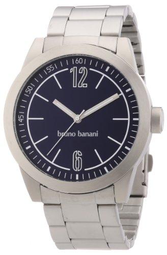 Bruno Banani - BR21114 - Montre Homme - Quartz Analogique - Bracelet Acier Inoxydable Argent