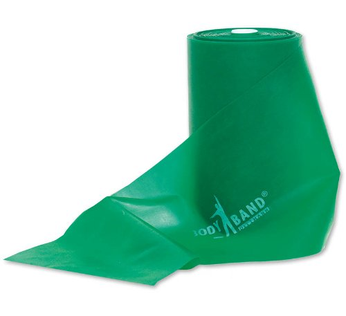DITTMANN Body Band 25 m grün (stark) Trainingsband