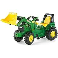 rRolly toys 710027 John Deere - Tractor miniatura con pala frontal [importado de Alemania]