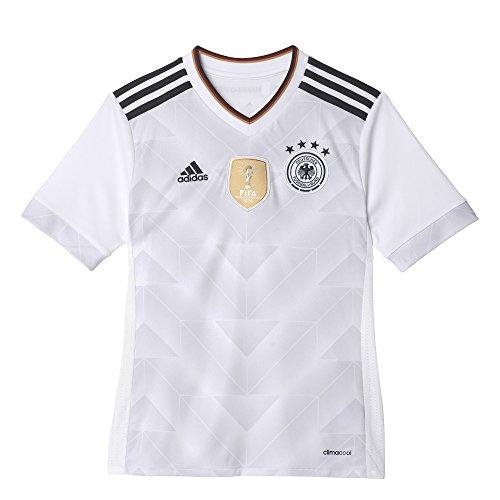 adidas Kinder Dfb Heim Trikot, White/Black, 164