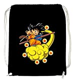 Certified Freak Goku Cloud Gymsack Black