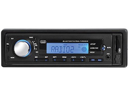 Trevi SCD 5725 BT 30W Bluetooth Negro receptor multimedia para coche -...